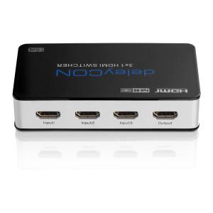 Hier findet Ihr den deleyCON HDMI Switch 3x1 im Test